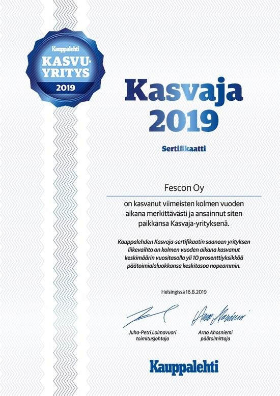 Fescon Oy - Yhteystiedot, Y-tunnus ja asiakirjat - Kauppalehden Yrityshaku